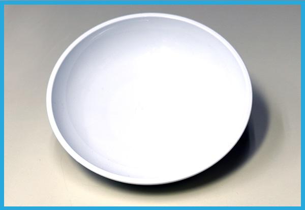 プラスチック皿(白)